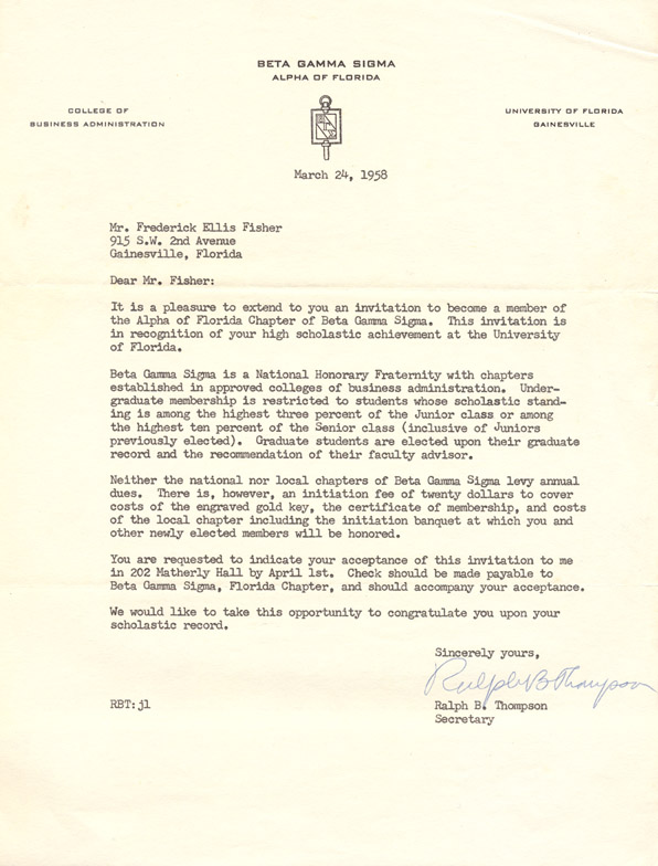 Commemorative Gallery: Distinguished Alumni, Fisher