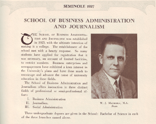 Commemorative Gallery of Accounting History: UF